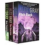 Alex Gray Collection 3 Books Set Pack Set RRP: � 21.97 (Pitch Black, The Riverman, Never Somewhere Else) (Alex Gray Collection)by Alex Gray