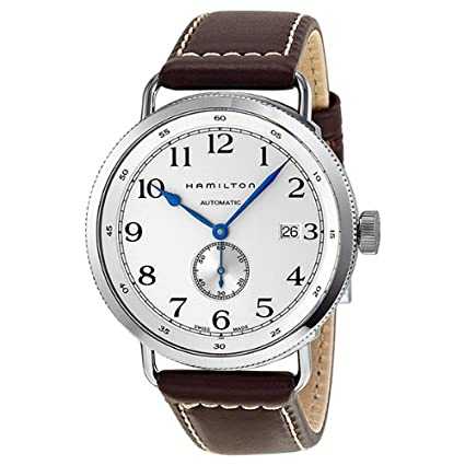 Hamilton Navy Pioneer Silver Dial Mens Watch H78465553 汉米尔顿 海军系列 自动机械手表-奢品汇 | 海淘手表 | 腕表资讯