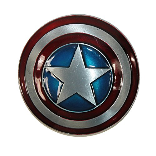 CTM® Unisex Captain America Shield Belt Buckle