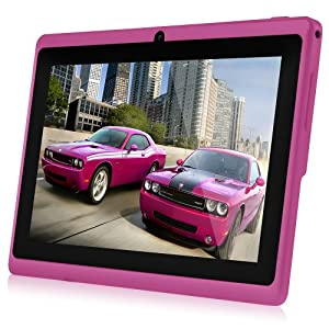 "Chromo Inc® Pink 4gb 7"" Android 4.0 Touch Capacitive Screen 1.2GHz 512 Ram Mid Tablet Pc Wifi 3g Camera Tr-a13"