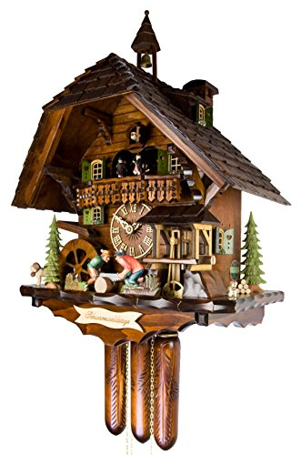 Galleon - Adolf Herr Cuckoo Clock - The Black Forest Saw Mill