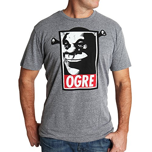 Muze Clothing Men's Shrek Ogre Crewneck T-shirt