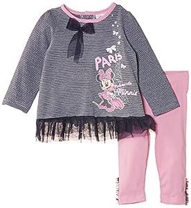 Disney Minnie Mouse Nh0107 - Conjunto de ropa para niñas