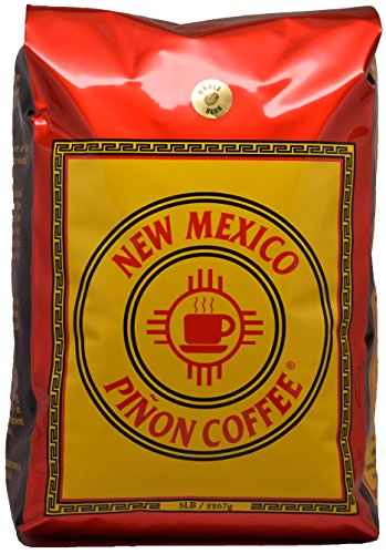 New Mexico Piñon Coffee Regular Whole Bean 5lb (New Mexico Pinon Coffee Beans compare prices)