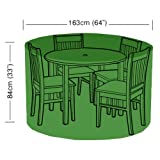 Bosmere 4 Seater Circular Patio Set Protector Cover