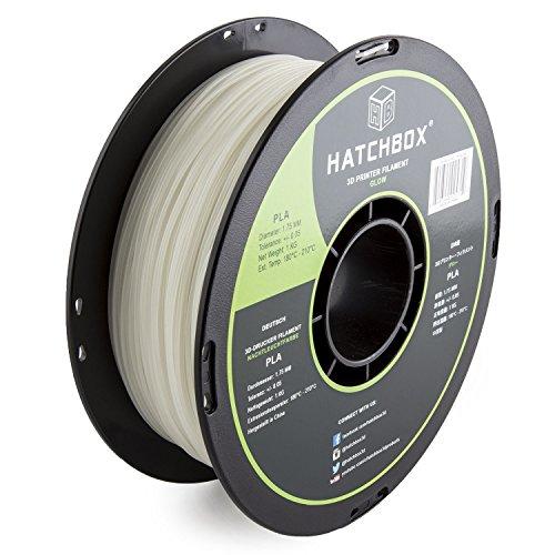 HATCHBOX-3D-PLA-1KG175-GLOW-PLA-3D-Printer-Filament-Dimensional-Accuracy-005-mm-1-kg-Spool-175-mm-Glow-in-the-Dark