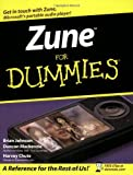 img - for Zune For Dummies book / textbook / text book