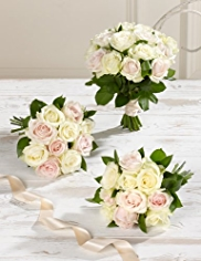 Pink and White Wedding Luxury Rose Collection 1