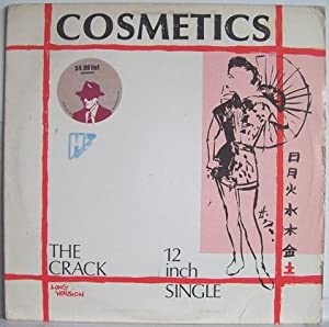 """The Crack (Long Version) / The Crack (Edited Version) & Caligraphy - Cosmetics [12"""" Maxi Single]"""