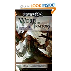 Word of Traitors: Legacy of Dhakaan, Book 2 by Don Bassingthwaite