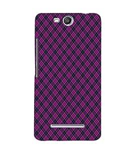 EPICCASE royal pink Mobile Back Case Cover For Micromax Canvas Juice 3 Q392 (Designer Case)
