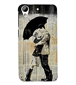 PRINTSWAG LOVE COUPLE Designer Back Cover Case for HTC DESIRE 626G+