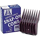 Millers Forge Original Snap-On Clipper Comb, Size-5, 1/16-Inch Cut