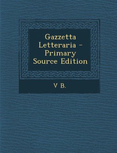 Gazzetta Letteraria
