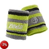 Zumba Fitness Sweat It - Polsiere da donna, confezione da 2 pezzi, Verde (Verde Zumba), Taglia unica