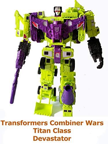Clip: Transformers Combiner Wars Titan Class Devastator