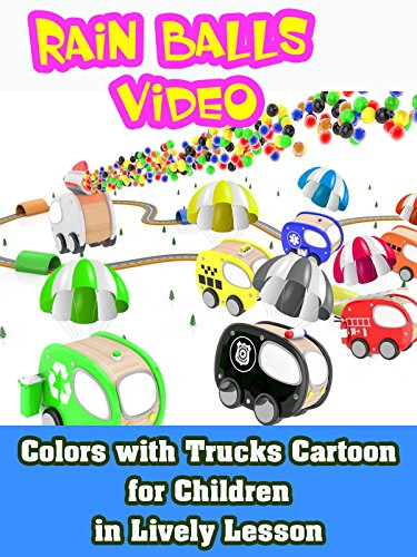 Colors with Trucks Cartoon for Children in Lively Lesson on Amazon Prime Video UK