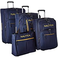 Nautica Helmsman 4-Piece Luggage Set - Navy