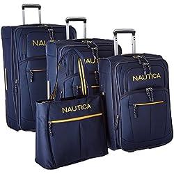 Nautica Helmsman 4-Piece Luggage Set - Navy