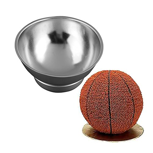 {Factory Direct Sale} New High Quality Aluminum Alloy Ball-Shaped Cake Pan Tin Molds Kids Birthday Party Kitchen Bakeware Tool Molds DIY Creative Cooking Cake