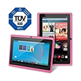 Chromo Inc 7″ Tablet Google Android 4.4 with Touchscreen, Camera, 1024×600 Resolution, Netflix, Skype, 3D Game Supported – Pink