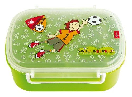 Imagen principal de Sigikid 23796 - Fiambrera para el almuerzo con diseño de futbolista, color verde