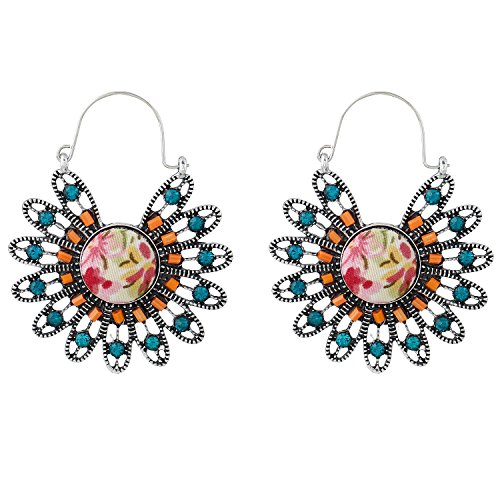 forever-moment-womens-handmade-flower-shape-drop-dangle-earrings-with-crystal-and-beads-turquoise-or