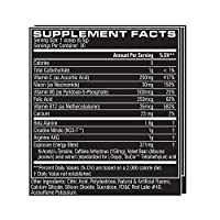 Cellucor - C4 Fitness Training Pre-Workout Supplement for Men and Women - Enhance Energy and Focus with Creatine Nitrate and Vitamin B12, Fruit Punch, 30 Servings by Cellucor