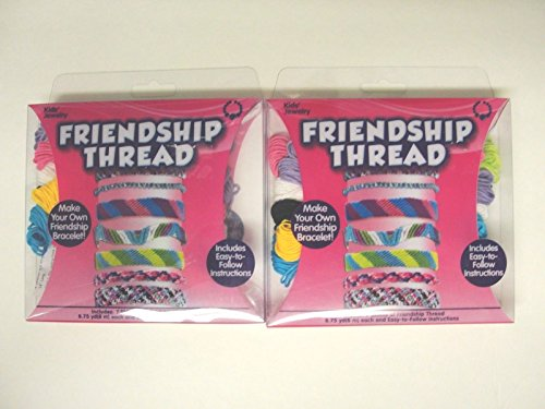 Friendship Bracelet Making Kit - 2 Pack -