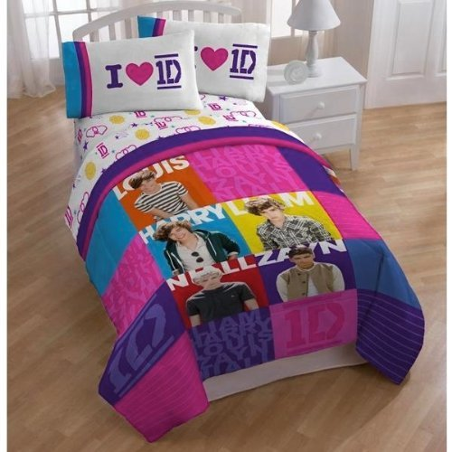 One Direction Bed Comforter front-875693