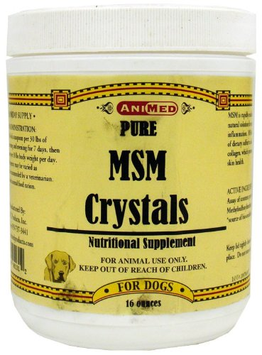 Animed Pure Msm Crystals (16 Oz)