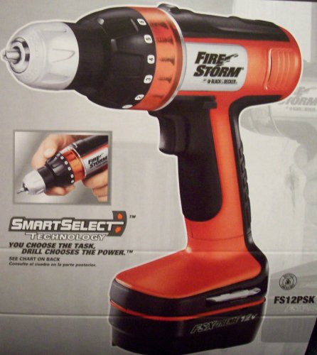 Firestorm 12 Volt Cordless Drill FSX-treme with SmartSelect Technology