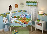 51l 8GoLX2L. SL160  Fisher Price Precious Planets 4 Piece Crib Bedding Set Reviews