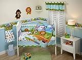 Fisher Price Precious Planets 4 Piece Crib Bedding Set
