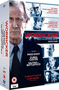 The Worricker Trilogy (Page Eight / Turks & Caicos / Salting the Battlefield) [DVD] [2013]