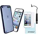 ZAFOORAH� Case Cover for Apple iPod Touch 5 5th Generation (Launched Sep 2012) + Free Stylus+Screen Protector+Microfiber Cloth