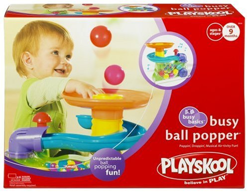 Hasbro Playskool Busy Ball Popper:   Playskool Busy Ball Popper Christmas