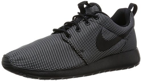 Womens Rosherun formatori 511882 scarpe da tennis (UK 3.5 Us 6 Eu 36,5, Nero lupo grigio 021)