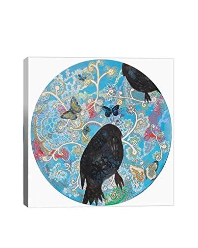 Lia Porto Gallery Pájaros Y Ornamentos Canvas Print