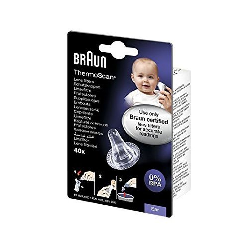 Braun LF40EULA01 Embouts jetables pour thermomètres auriculaires Braun