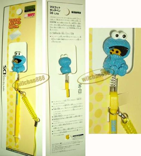 Nintendo NDS NDSi DSi DS Lite PDA stylus pen SESAME STREET Cookie Monster (new)