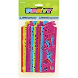 Plastic Stencil Party Favors, Assorted 10ct