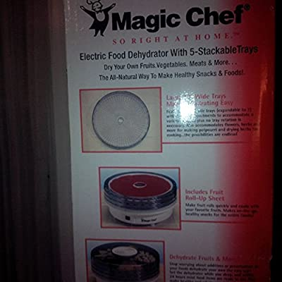 Magic Chef Electric Food Dehydrator 5-Stackable Trays from Magic Chef