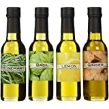 Baja Precious Quartetto: Rosemary, Basil, Lemon, Ginger (Pack of 4 x 150ml Bottles)
