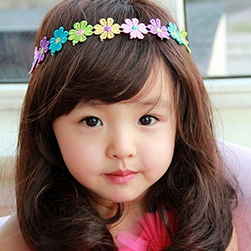 [Spritech(TM) Children's Lovely Stylish Deep Brown Fluffy Realistic Long Wavy Curly Hair Wig Fiber Synthetic Wig for 1-4 Years Old] (Old Wigs)