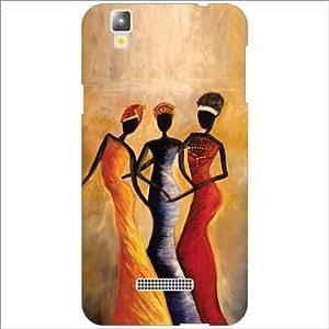 Yureka Plus Back Cover - Silicon Folk Dance Designer Cases