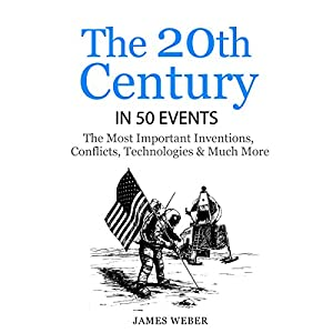 The 20th Century in 50 Events Audiobook