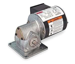 Dayton model 1xfy6 gear motor 86 rpm 1 12 hp tenv 115v for Dayton electric fan motors