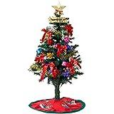 タンスのゲン クリスマスツリー 120cm 8パターンのLEDイルミネーション オーナメント 9点セット 飾り付き 1691000200