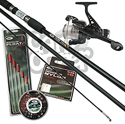 Complete Beginners Float Match Fishing Outfit Set Up Rod Reel & Tackle Bundle by Carp Corner